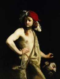 Guido Cagnacci, David with the Head of Goliath, c.1655, Columbia Museum of Art, South Carolina