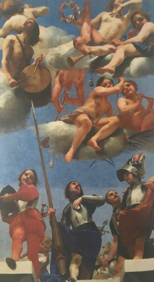 Guido Cagnacci, The Glory of St Valeriano, 1642-1644, Pinacoteca Civica, Forlì