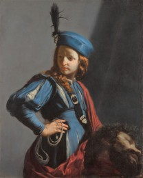 Guido Cagnacci, David with the Head of Goliath, c.1655, Getty Museum, Los Angeles