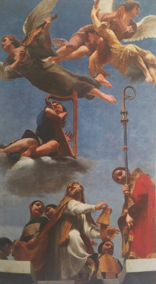 Guido Cagnacci, The Glory of St Mercuriale, 1642-1644, Pinacoteca Civica, Forlì
