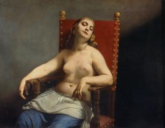 Guido Cagnacci, Cleopatra, c.1660-1663, Brera, Milan