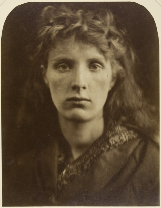 Julia Margaret Cameron, Mountain Nymph, Sweet Liberty (Mrs Keene), June 1866