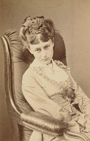Lewis Carroll, Alice Liddell at Eighteen, 25 June 1870