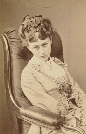 Lewis Carroll, Alice Liddell at Eighteen, 25 June 1870
