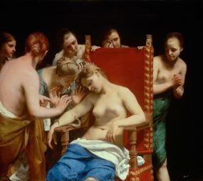 Guido Cagnacci, Cleopatra, c.1660-1662, Kunsthistorisches Museum, Vienna