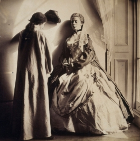 Lady Clementina Hawarden, Photographic Study (Clementina Maude and Isabella Grace Maude), 1863-64