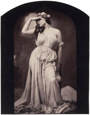 Oscar Rejlander, The Evening Sun (Iphigenia), c.1860