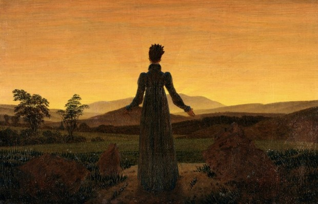 Friedrich: Woman Before the Rising Sun