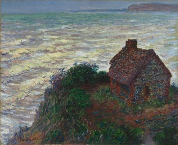 Monet: The Custom Officer's Cottage at Varengeville