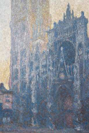 Claude Monet, Rouen Cathedral, Beyeler Collection