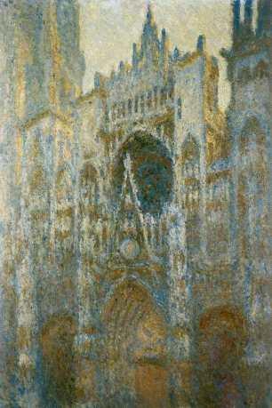 Claude Monet, Rouen Cathedral, Klassik Stiftung Weimar