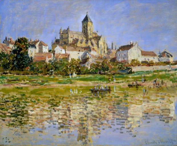 Monet: The Church at Vetheuil