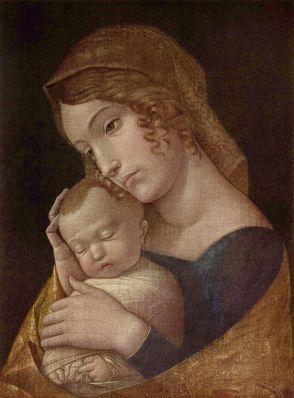 Andrea Mantegna, Madonna and Child, c.1455, Gemaldegalerie, Berlin