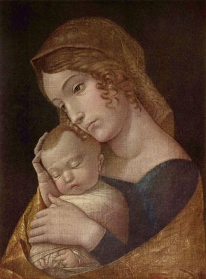Andrea Mantegna, Madonna and Child, c.1455, Gemaldegalerie, Berlin