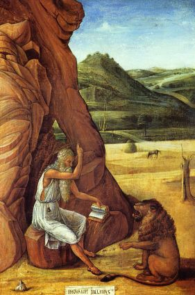 Giovanni Bellini, St Jerome, c.1453-5, Barber Institute, Birmingham