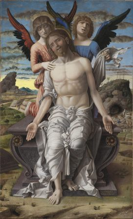 Andrea Mantegna, The Dead Christ with Angels, c.1485-1500, Statens Museum for Kunst, Copenhagen