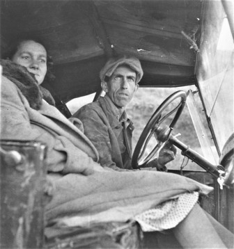 Dorothea Lange, Ditched, Stalled & Stranded, San Joaquin Valley, California, 1936