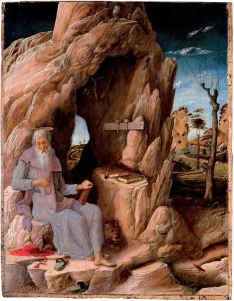 Andrea Mantegna, St Jerome, c.1448-51, Museu de Arte de São Paulo