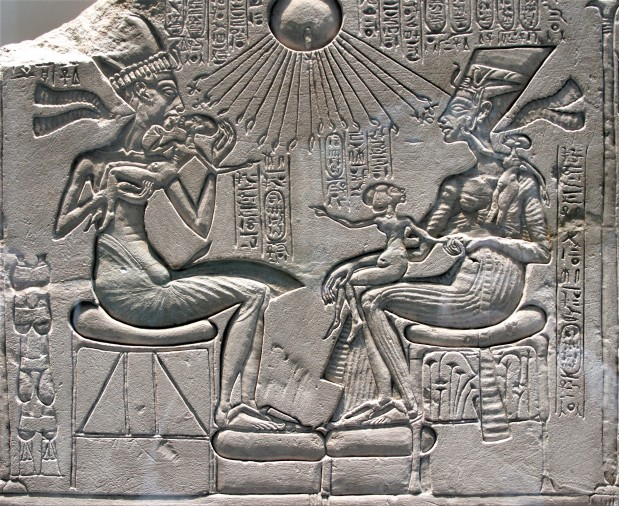 Akhenaten, Nefertiti and Family