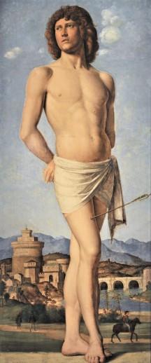 Cima da Conegliano, St Sebastian, Musée des Beaux-Arts, Strasbourg