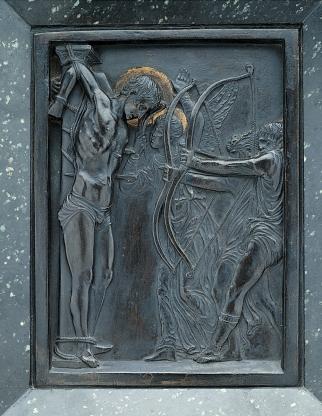 St Sebastian, Donatello, Musée Jacquemart-André, Paris