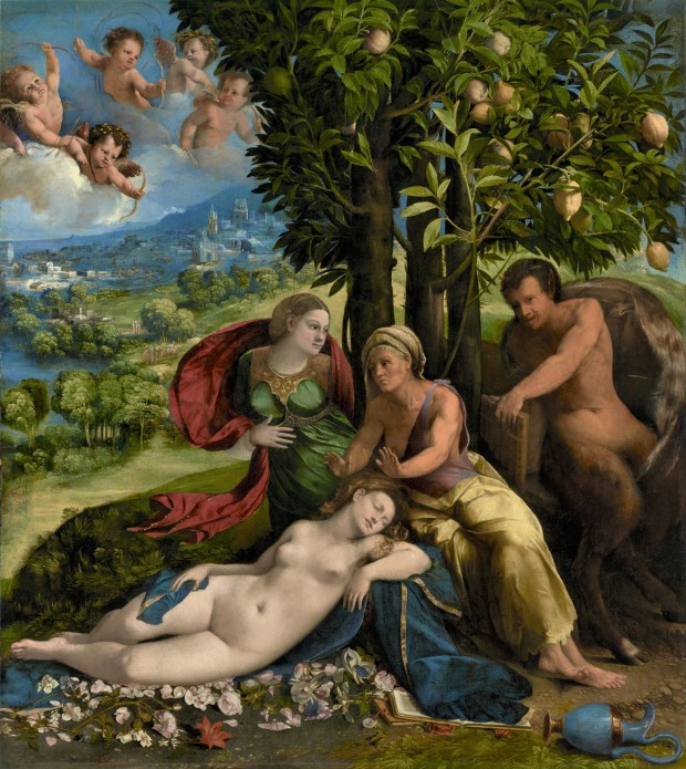 Dosso Dossi Myth of Pan