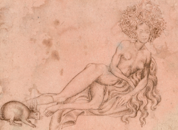 Pisanello_-_Allegory_of_Luxuria_(recto),_c._1426_-_Google_Art_Project