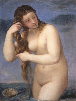 Titian, Venus Anadyomene, National Galleries of Scotland