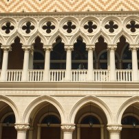 Facade of the Doge's Palace at the Venetian, Macau