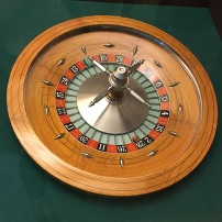 The only roulette wheel I saw, Macau Museum