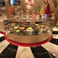 The cake shop and ice cream parlour at the Wynn Palace Hotel, Cotai, Southern Macau